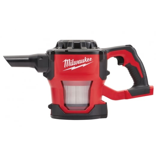 Milwaukee M18CV-0 18v Compact Hand Vac Body Only