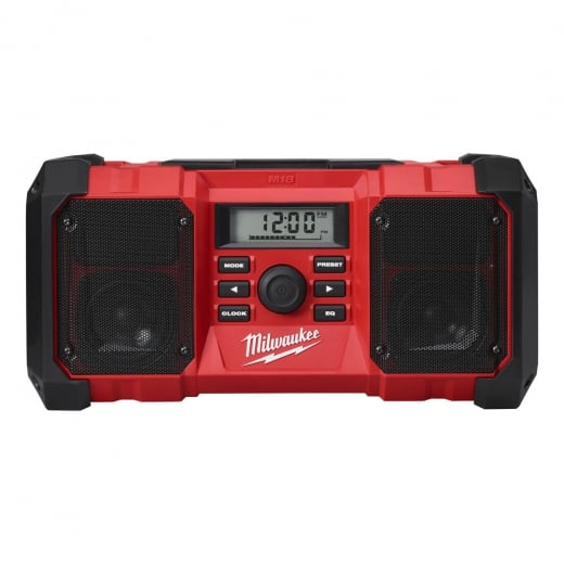 Milwaukee M18JSR-0 Jobsite Radio AM/FM tuner Radio Body Only