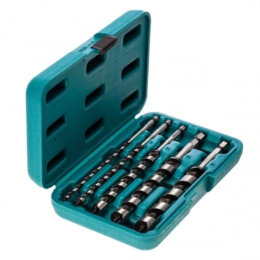 Makita P-46464 5 Piece Wood Auger Drill Bit Set 6mm 8mm 13mm 16mm 19mm