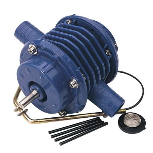 Draper Drill powered pump with spare washers and vanes