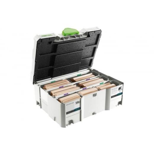 Festool Dominos Beechwood XL Assortment DS/XL D12/D14 128x BU 498205