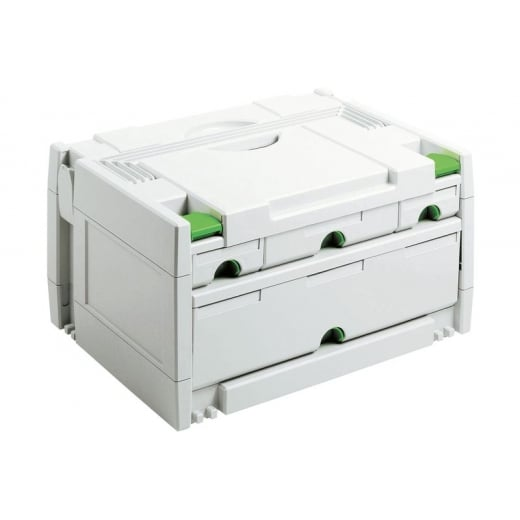 Festool Systainer Sortainer SYS 3-SORT/4 4 Draw 491522