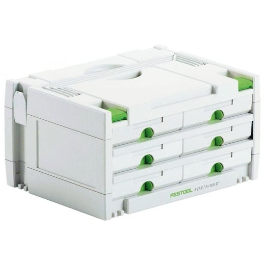 Festool Sortainer SYS 3-SORT/6 6 Drawer 491984