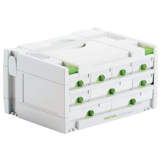 Festool Sortainer SYS 3-SORT/9 9 Drawer Storage Box 491985