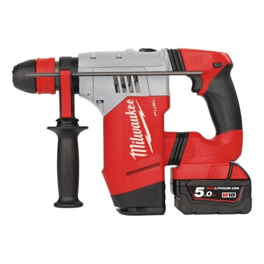 Milwaukee M18CHPX-502X 18v Sds Hammer Drill 2 x 5.0ah Batteries In Bag