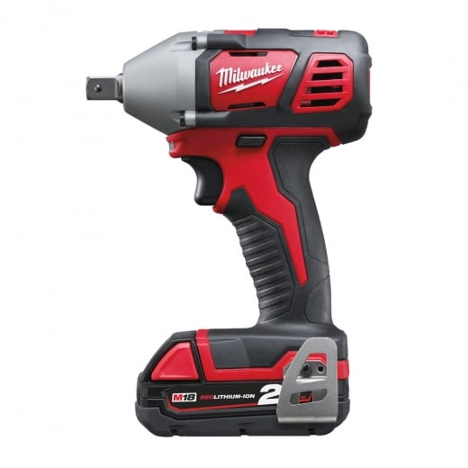 Milwaukee M18BIW12-202C 18v 1/2 Cordless impact wrench 2 x 2.0ah batteries