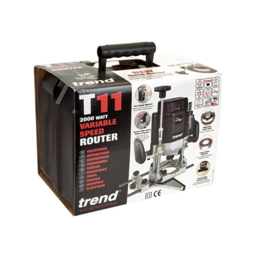 Trend T11ELK 2000w Variable Speed Router 110v