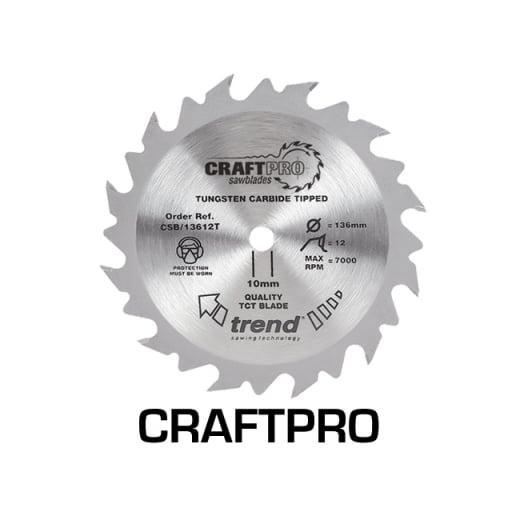CSB/13624TA Thin Craft Pro Saw Blade 136MM X 24T X 20MM