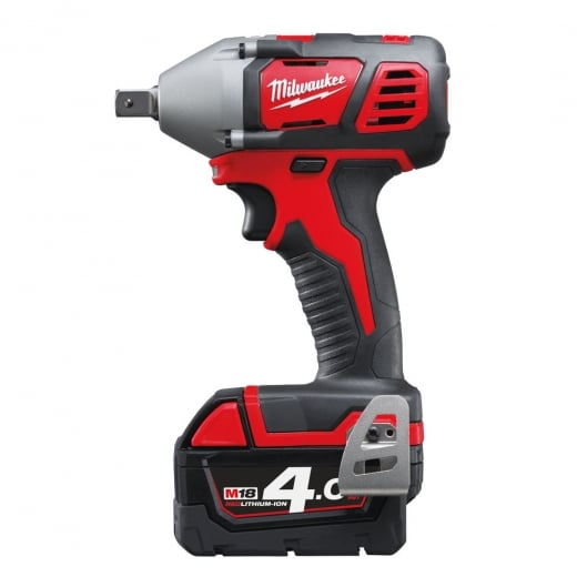 Milwaukee M18BIW12-402C 18v 1/2 Impact Wrench C/W 2 4.0amp Batteries + Charger