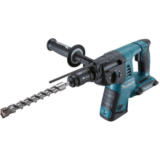 Makita DHR264ZJ Twin 18v Sds Rotary Hammer Drill Bare Unit In Makpac Case