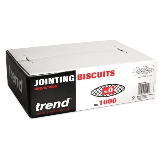 Trend BSC/0/1000 Biscuit No. 0 Pack of 1000