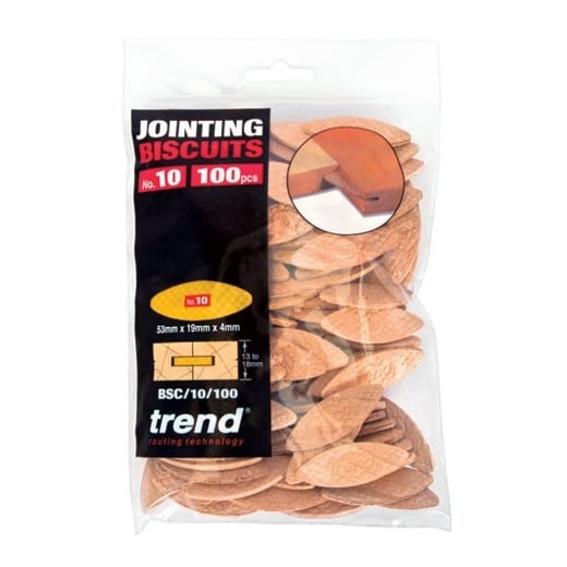 Trend BSC/10/100 Biscuit No. 10 Pack of 100