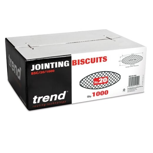 Trend BSC/20/1000 Biscuit No. 20 Pack of 1000