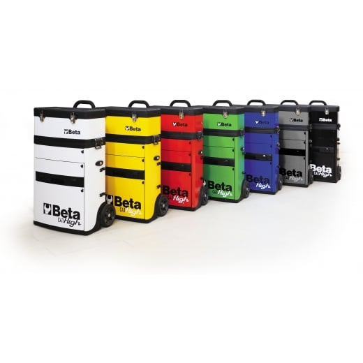 Beta Tools C41H Tool Trolley With Detachable Tool Box