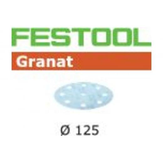 Festool 497180 125mm 1000 Grit Sanding discs STF D125/8 P1000 GR/50