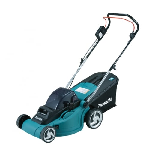 Makita DLM380Z Twin 18v Cordless Lawnmower 38cm Cut Body Only