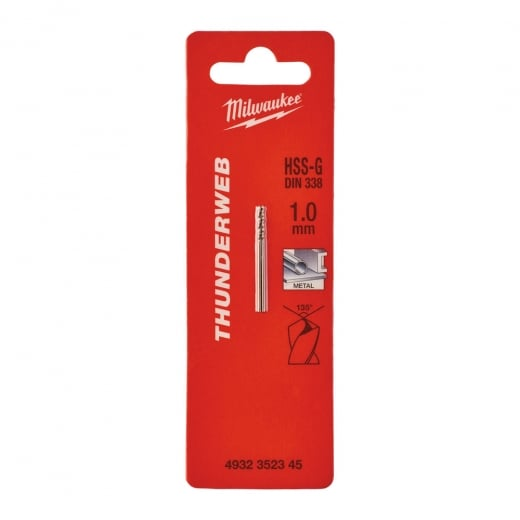 Milwaukee Thunderweb Metal Drill Bits