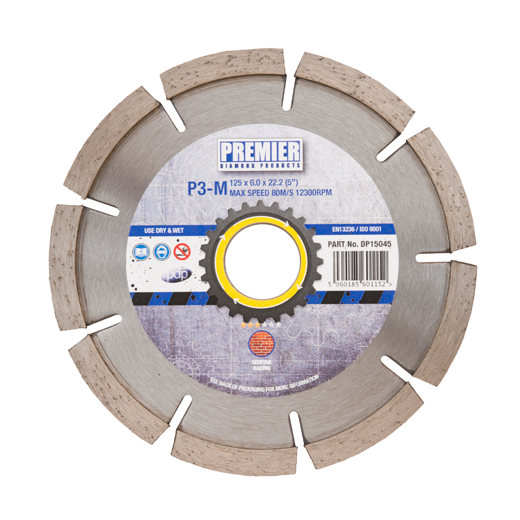 Premier Diamond Products DP15040 115mm Mortar Raking Diamond Blade P3-M