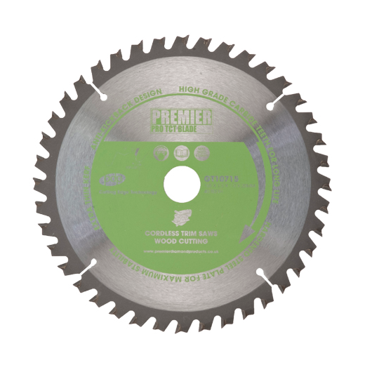 Premier Diamond Products GT10700 TCT Saw Blade 136x1.6x1.0x10mm 24 Teeth Wood Cutting