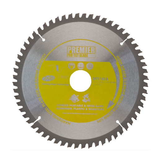 Premier Diamond Products GT11027 TCT Saw Blade 215x2.6x1.8x30mm 80 Teeth