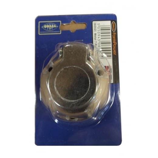 Farmpower 6002 7 Pin Metal Socket Sold Individually