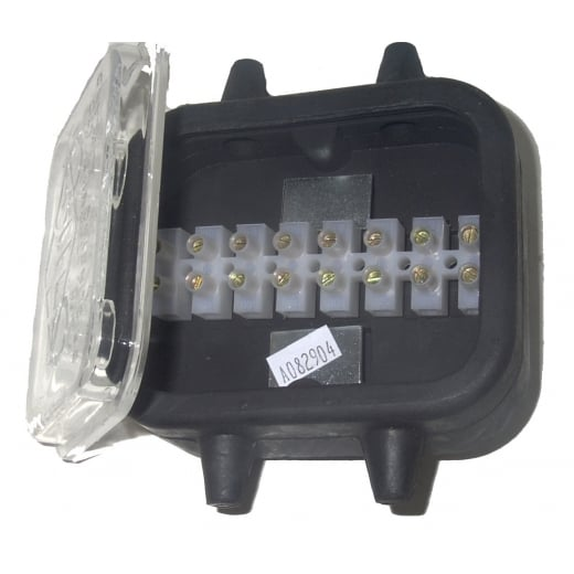 Farmpower Connector Junction Box 870 With 16 Screw Terminals