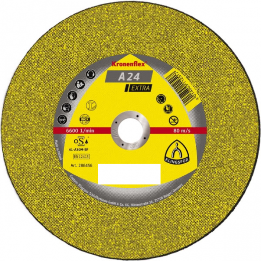 Klingspor 188463 Metal Cutting Disc 125mmx22.23x3mm