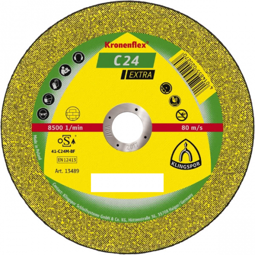 Klingspor 125x3mm stone cutting discs 188464 each
