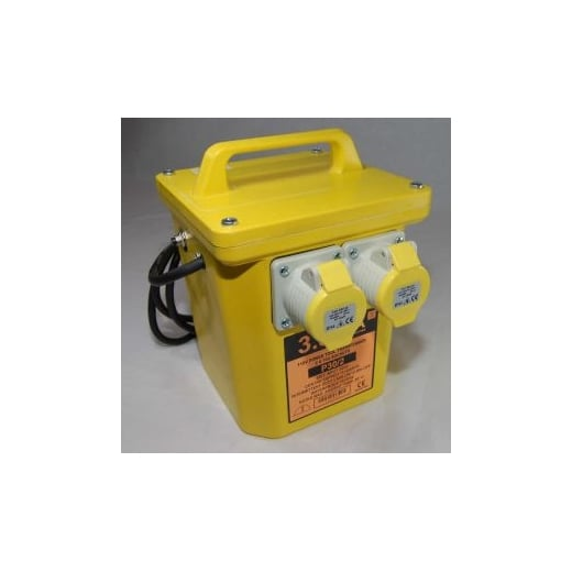 Electro-wind Portable Transformer 3.3KVA with Twin 110 volt Outlets