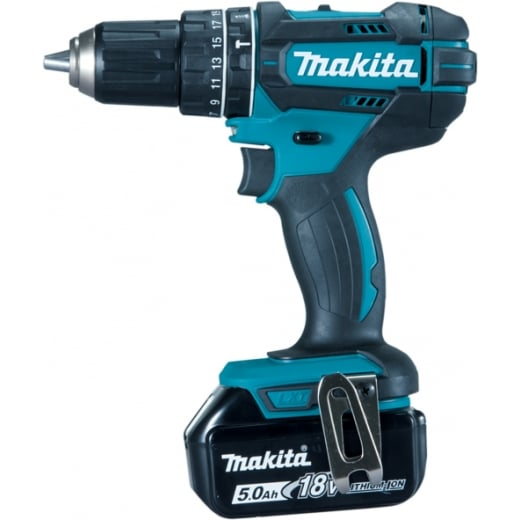 Makita DHP482RM1J 18v Combi Drill 1 x 4.0Ah Battery, Charger & Makpac Case
