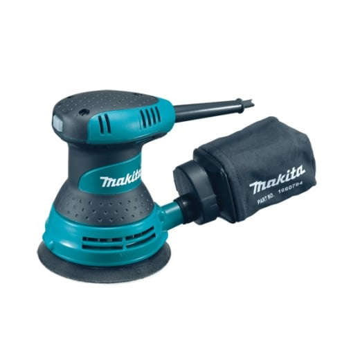 Makita BO5030 Random Orbital Sander 125mm Disc Size 240v