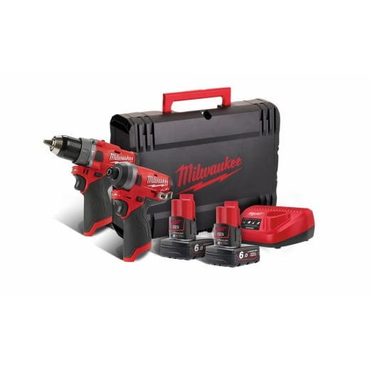 Milwaukee M12FPP2A-602X M12 Fuel Twin Pack 2 X 6.0Ah