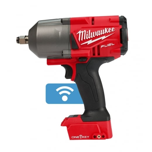 """Milwaukee M18ONEFHIWF12-0 18v Cordless 1/2"""" 1898nm High Torque Impact Wrench One Key Body Only"""