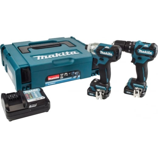 Makita CLX205AJ 10.8v Brushless Twin Pack