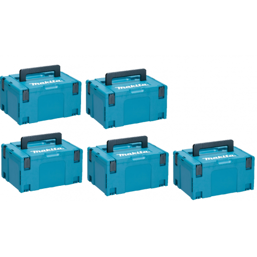 Makita 821551-8 Makpac Type 3 Pack Of 5
