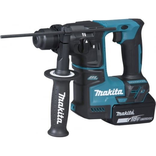 Makita DHR171RMJ 18v Rotary Hammer Drill With 2 x BL1840, Charger & Case