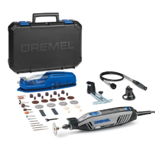 Dremel F0134300JB 4300-3/45 Multi Tool 240v 3 Attachments + 45 Accessories 240v