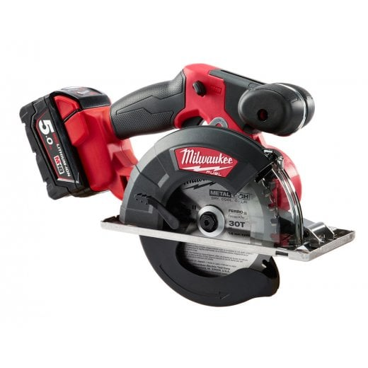Milwaukee M18FMCS-502 M18 Fuel Metal Saw Kit With 2 x M18B5 Batteries, Charger, Case