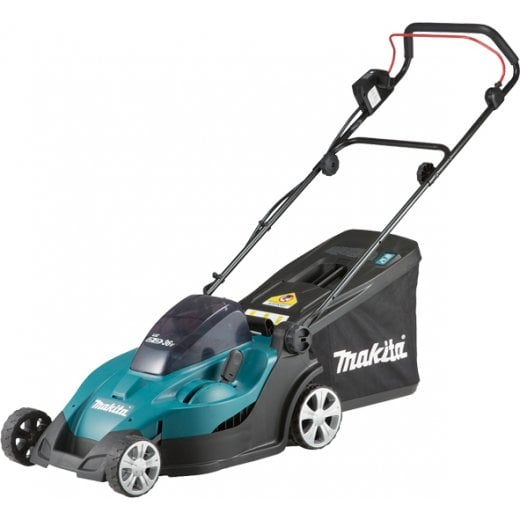 Makita DLM431PF4 Twin 18v 36v Cordless Lawnmower 4 x 18v 3.0ah Batteries & Charger