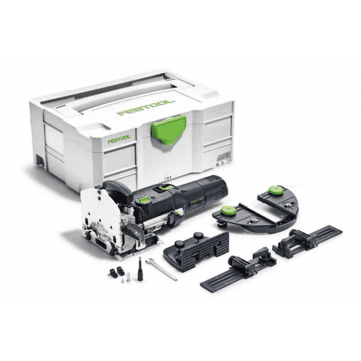 Festool DF500 Q-Set Domino Joiner Joining Machine SET GB 240v 574429
