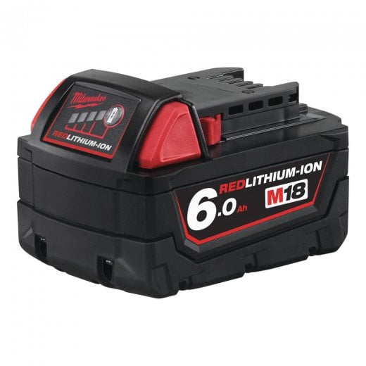 Milwaukee M18B6 18v 6.0ah Li-on Battery