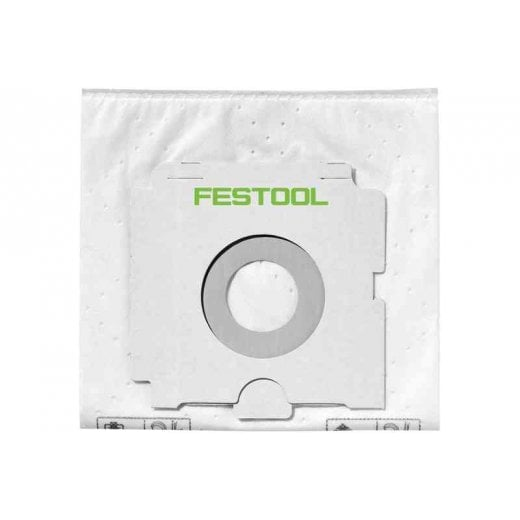 Festool 496186 Selfclean Filter Bag FIS-CT 36/5 Pack 5