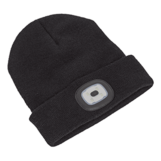 Sealey LED185 LED Rechargeable Beanie Hat