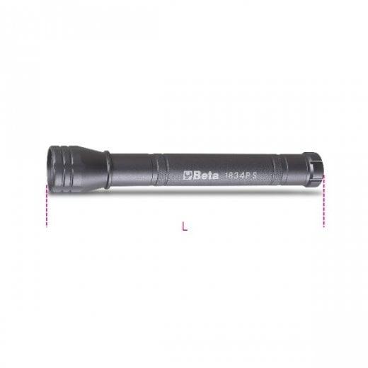 Beta Tools 1834PS High Brightness LED Torch 300 Lumens