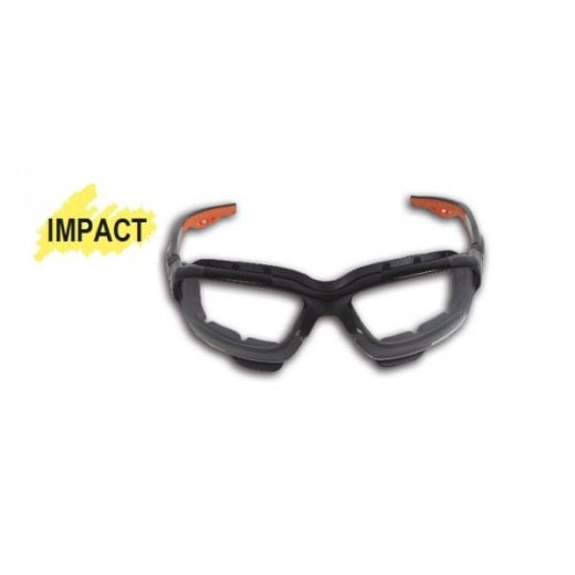 Beta Tools 7093BC Safety Glasses Clear With Clear Polycarbonate Lenses