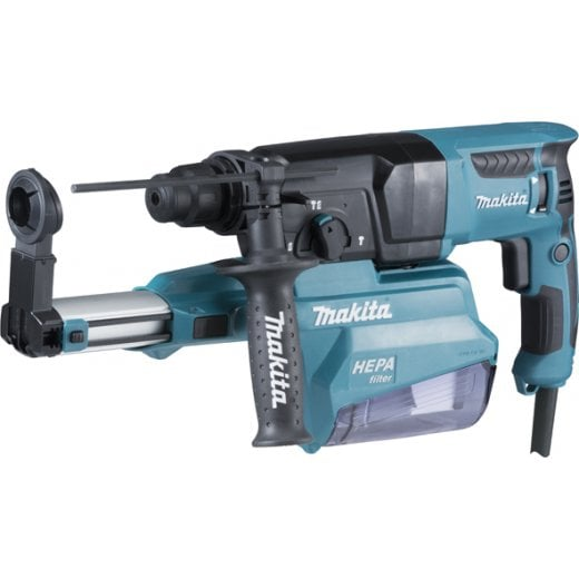 Makita HR2650 SDS Hammer Drill With Dust Collection System 240V