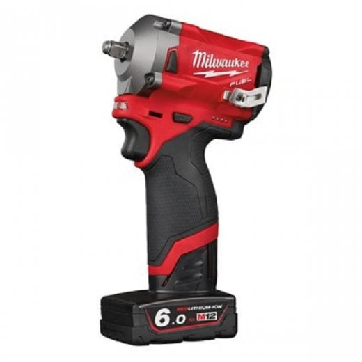 Milwaukee M12FIW38-622X 12v 3/8 Cordless Sub Compact Impact Wrench Kit