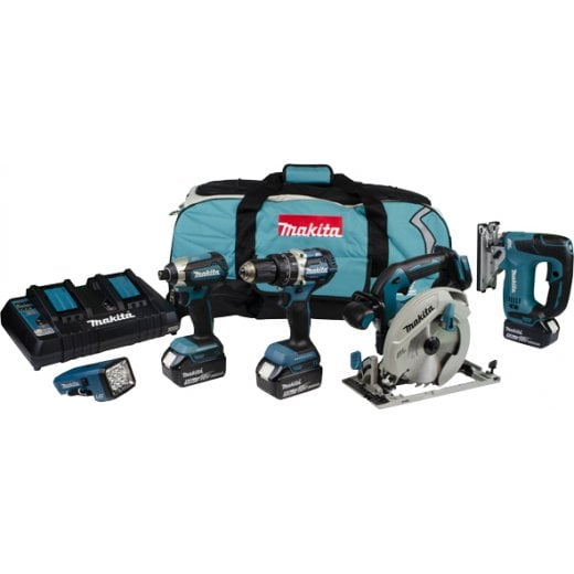Makita DLX5043PT 18v Brushless 5 Piece Kit