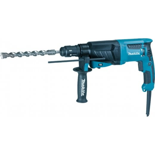 Makita HR2630T Rotary Hammer Drill With Quick Change Chuck