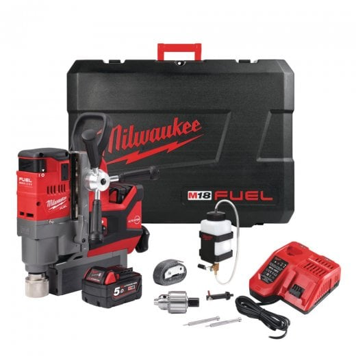 Milwaukee M18FMDP-502C 18 Volt Cordless Mag Drill With Permanent Magnet